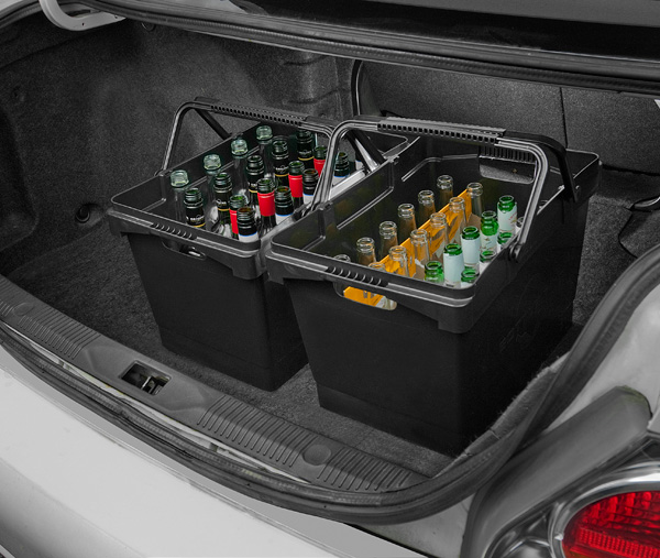 Keep Your Bottle Bin™ Anywhere U2013 The Closet, Kitchen, Laundry Room,  Basement, Or Garage. Bottle Bin™u0027s Size And Shape Make It A Perfect Fit For  Any Area Of ...